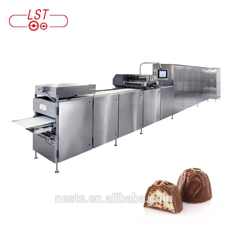 Factory Supply Chocolate Depositing  Machine Automatic Chocolate Machine Production Line