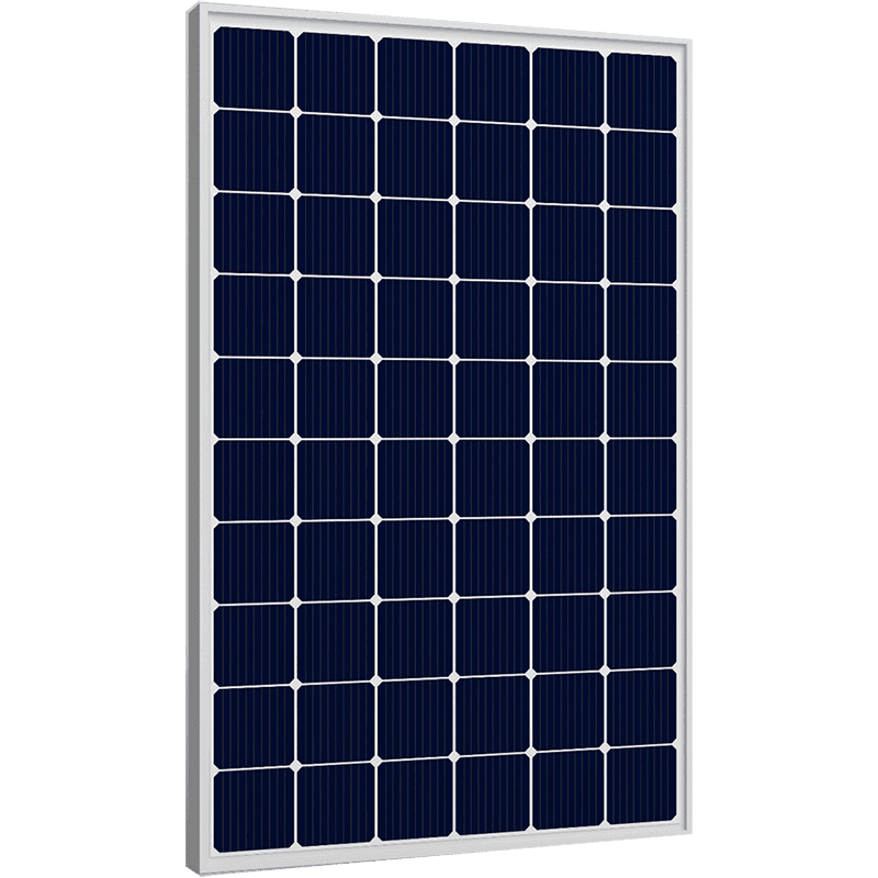 Corrugated Alu-Zinc Steel Double Glass Solar Panel Bifacial -
