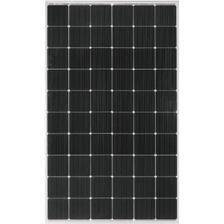 Corrugated Prepainted Steel Sheet Solar Panel Half Cell - MONOCRYSTALLINE MODULE 300-320 Watt – Luck Solar detail pictures