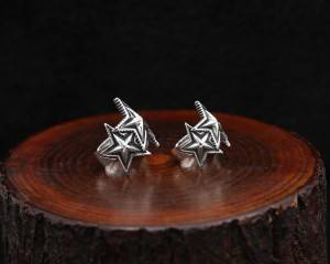 Wholesale S925 Sterling Silver Retro Thai Silver Ring Japanese Korean Personality Fashion Star Rings