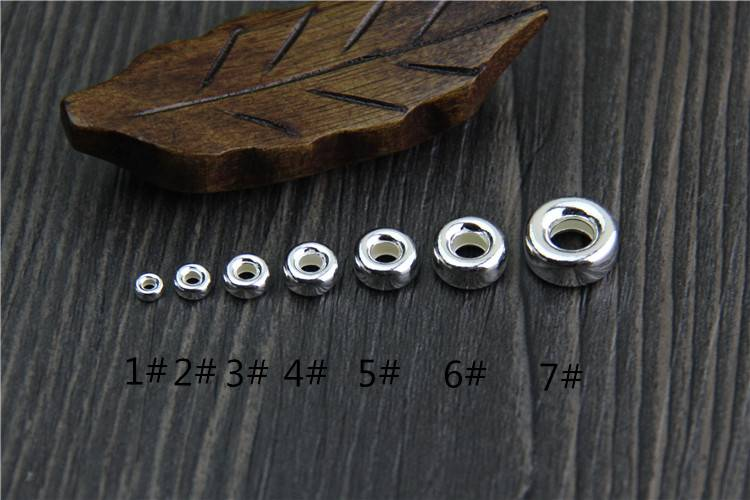 Interval Stopper Spacer Beads Fit Charms Silver 925 Original Bracelets & Bangles Women DIY Beads for Jewelry Making