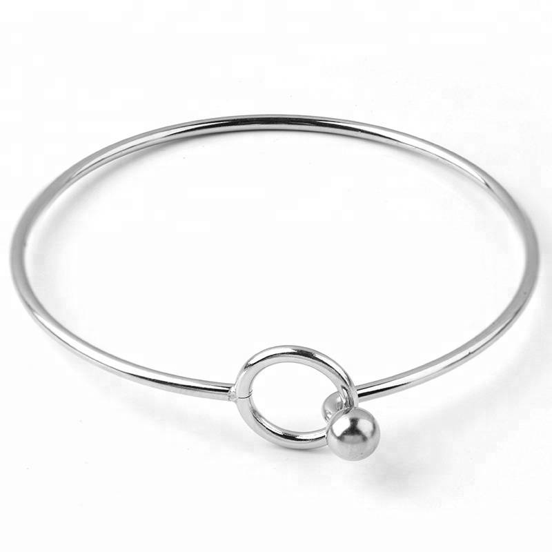 Men/women Stainless Steel Bracelets Toggle Clasps Connectors steel DIY Jewelry Accessories Christmas Gift Cuff Bangles