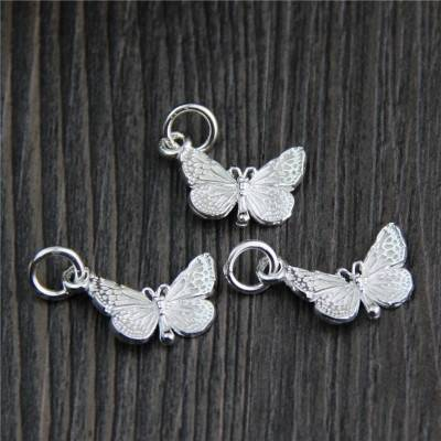 925 Sterling Silver Charms DIY Bracelets Necklace Bangle Butterfly Charms Pendant Charms For Jewelry Making