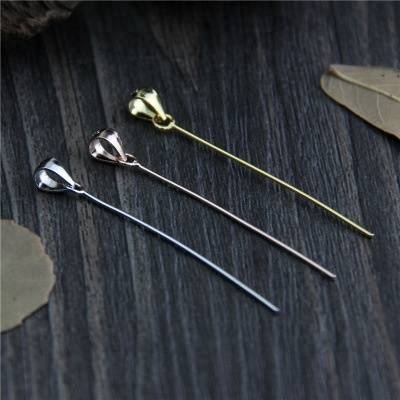 925 Sterling Silver DIY Bracelet Bail Buttons Necklace Pendant Buckle Clasp Connector Clasps Clips