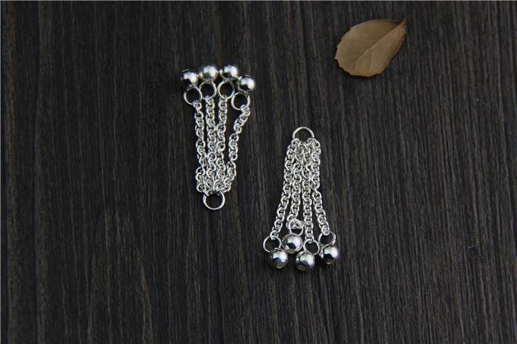 2018 New 925 Sterling Silver Jewelry Tassel Charms Beads Fits Bracelets For Jewelry Making