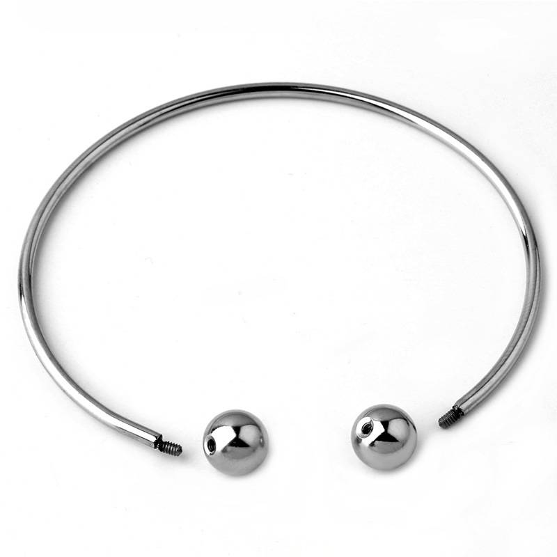 ( No Fade ) Stainless Steel DIY Simple And Stylish Single-line Twisted Bracelet