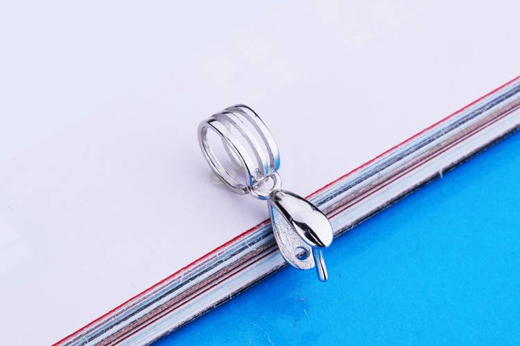 100% S925 sterling silver Pendants Clasps Clips Bails Connectors Charm Jewelry Findings