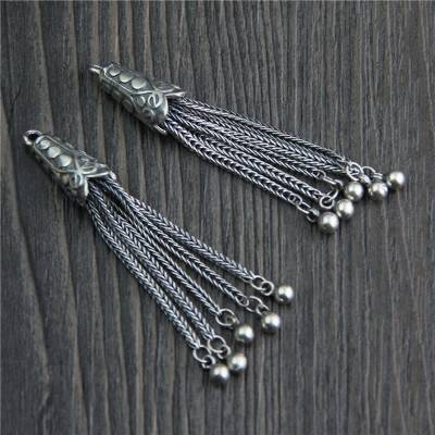 Real 925 Sterling Silver Chains Tassels Charms Accessories Jewelry DIY Bohemia Pendants Jewellery Findings Bijoux Featured Image