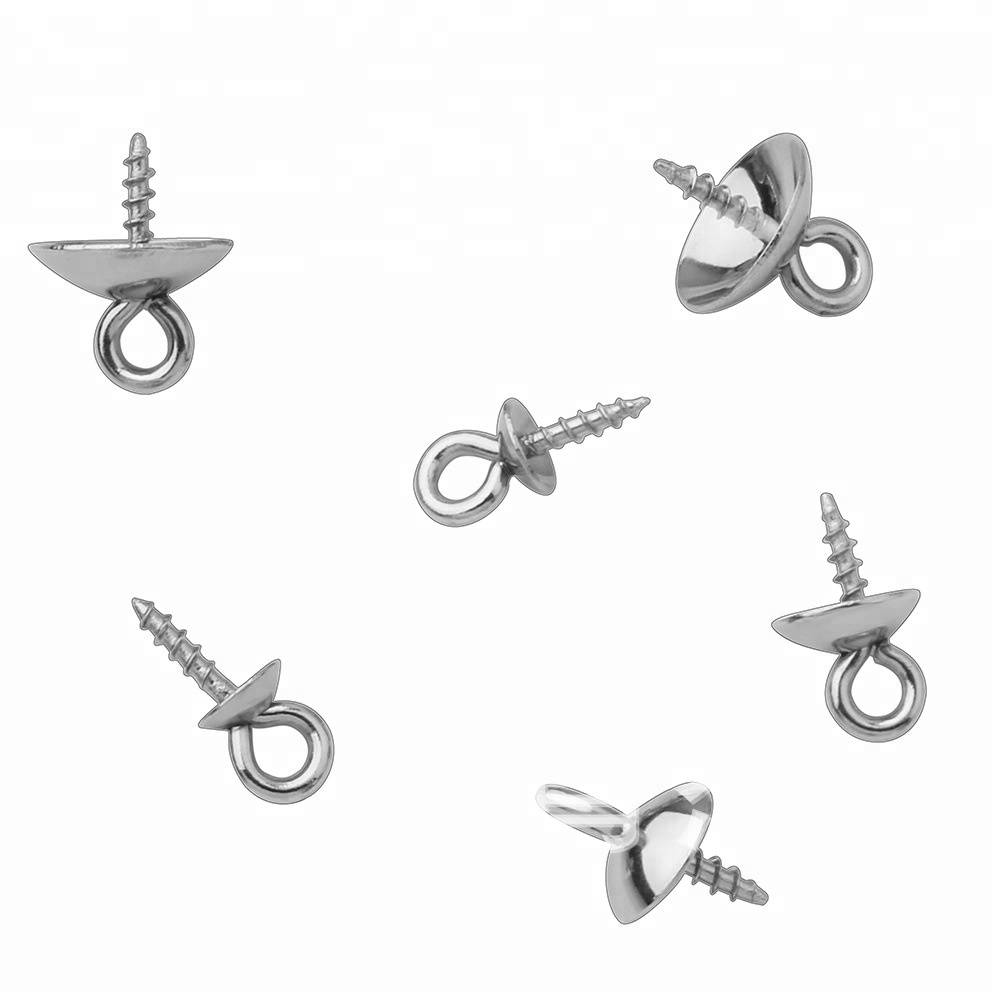stainless steel Pendant Necklace Buckle Clasps Connectors Jewelry Findings Accessories for DIY
