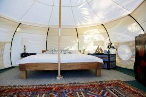 Lotus Lent 5m Large Space Luxury Glamping Hotel House NO.100
