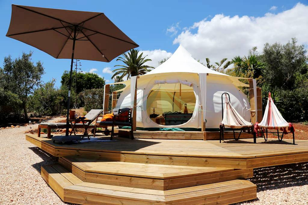 Lotus Lent 5m Large Space Luxury Glamping Hotel House NO.100 Featured Image
