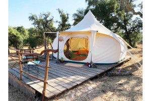Glamping Hotel lotus tent camping resort hot sale  NO.096