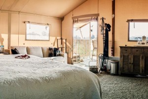 Safari Tent Hotel Factory Luxury Glamping House For Sale NO.038