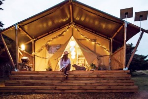 Safari Tent Hotel Factory Wholesale New Design Glamping Resort NO.041