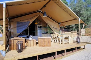 Luxury Family Design Camping application safari tent hotel for sale NO.045