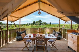 Canvas tents luxury glamping wooden outdoor tent safari manufacturer NO.046