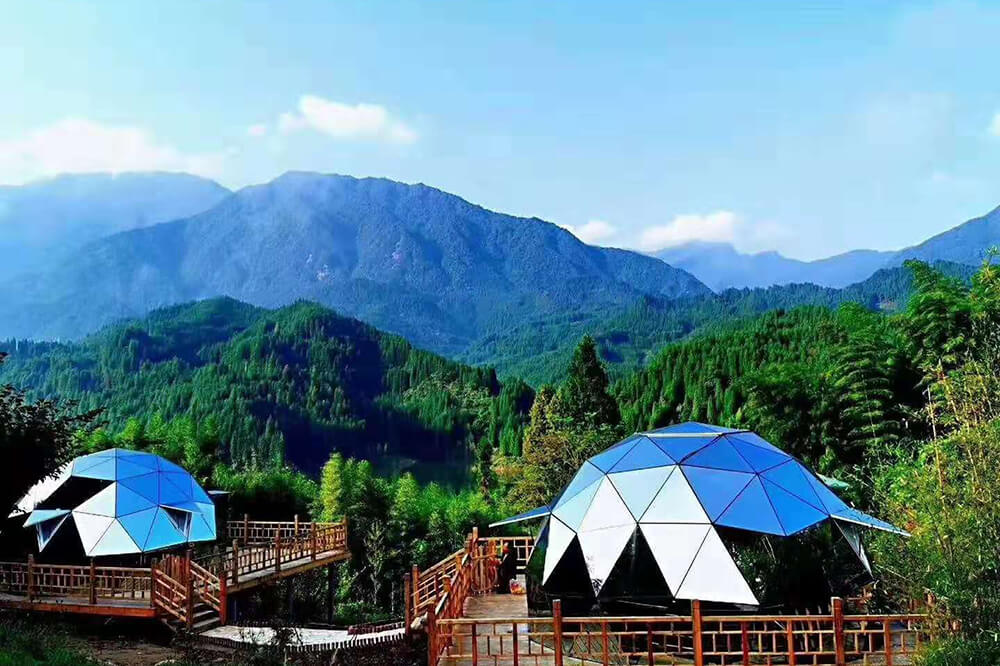 Lowest Price for Hexagon Pop Up Aluminium Tent - Luxury Hotel Dome Tent – Aixiang