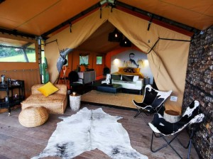 luxury outdoor camping resort family Safari tent for sale NO.032