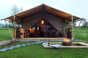 Outdoor camping family design luxury hotel tent safari tent for resort NO.026