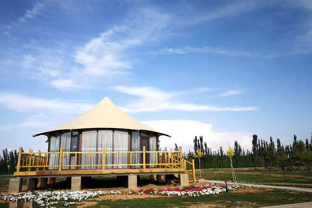 PriceList for Geodesic Dome Cover - Eco-friendly Grassland Luxury Hotel Tent – Aixiang
