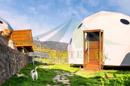 Professional Design Glamping Hotel Tent - Luxury Hotel Dome Tent The Coastal scenery part.1 – Aixiang