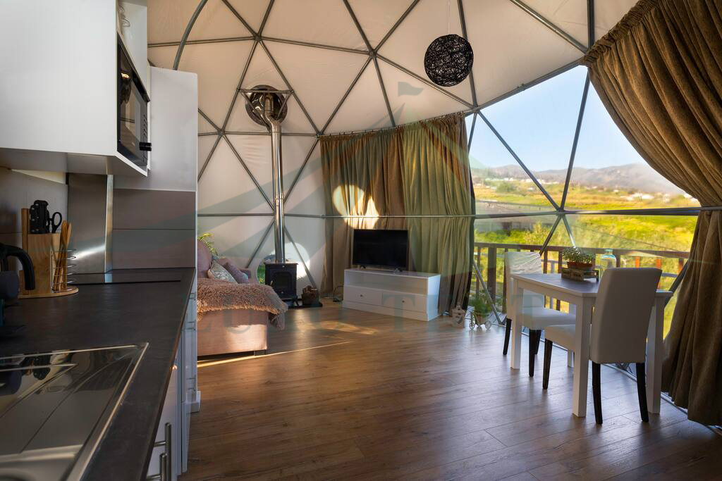 Special Design for Tent House Hotel - Luxury Hotel Dome Tent The Coastal scenery part.4 – Aixiang
