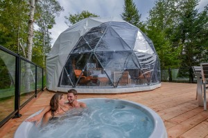 luxury tent glamping dome house 8m geodesic domes part.2
