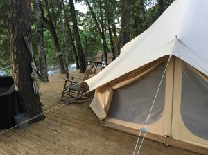 High quality luxury bell glamping tent for camping resort NO.004