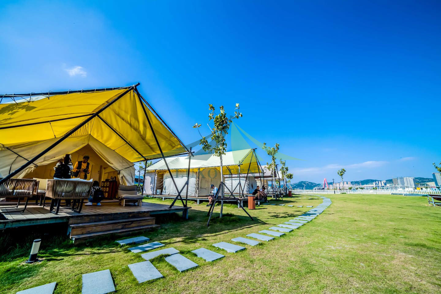 Luxury tents for Sale Safari membrane hotel tent NO.024 Featured Image