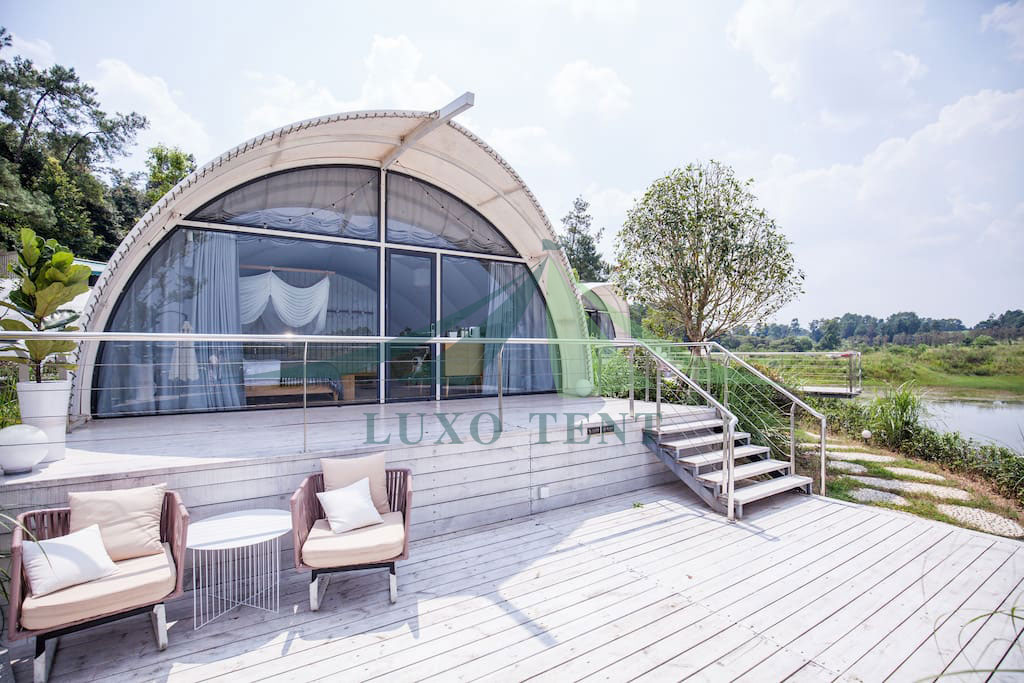 Factory directly supply Out Door Tent - New Design Hotel Tent Luxury Cocoon House NO.002 – Aixiang