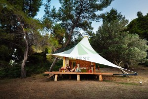 Luxury Resort Tent Tension Membrane Hotel Tent NO.006
