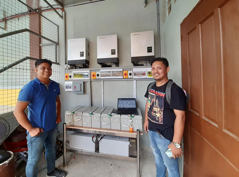 15kW, the latest installation in Philippines!