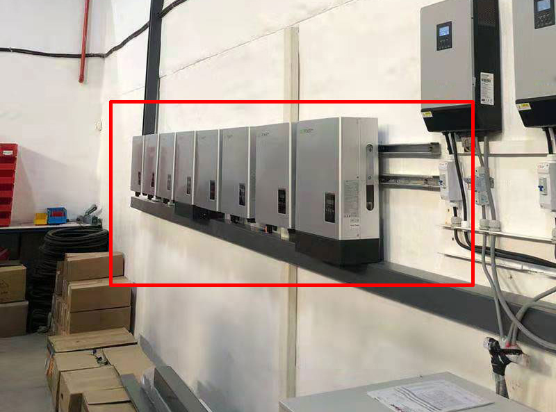 40kW-Lux Power Hybrid Inverter Parallel Installation