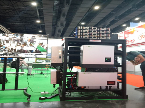 Luxpower inverter is showing in Thailan show