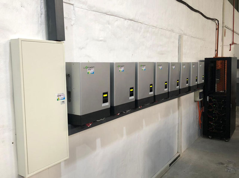 40kW, installed in South Africa