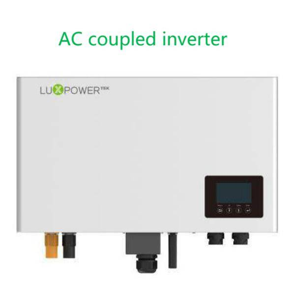 AC coupled inverter: grid-tie energy storage solution