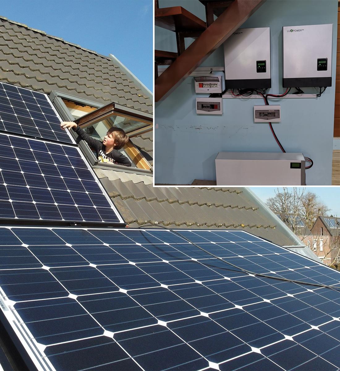 Solar Inverter Battery Inverter Power Inverter Hybrid Inverter Lux Power