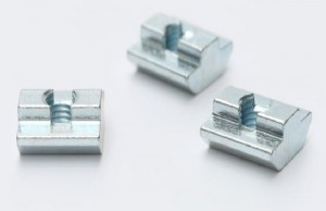 Carbon Steel Nickel Plated T-Slot Nuts