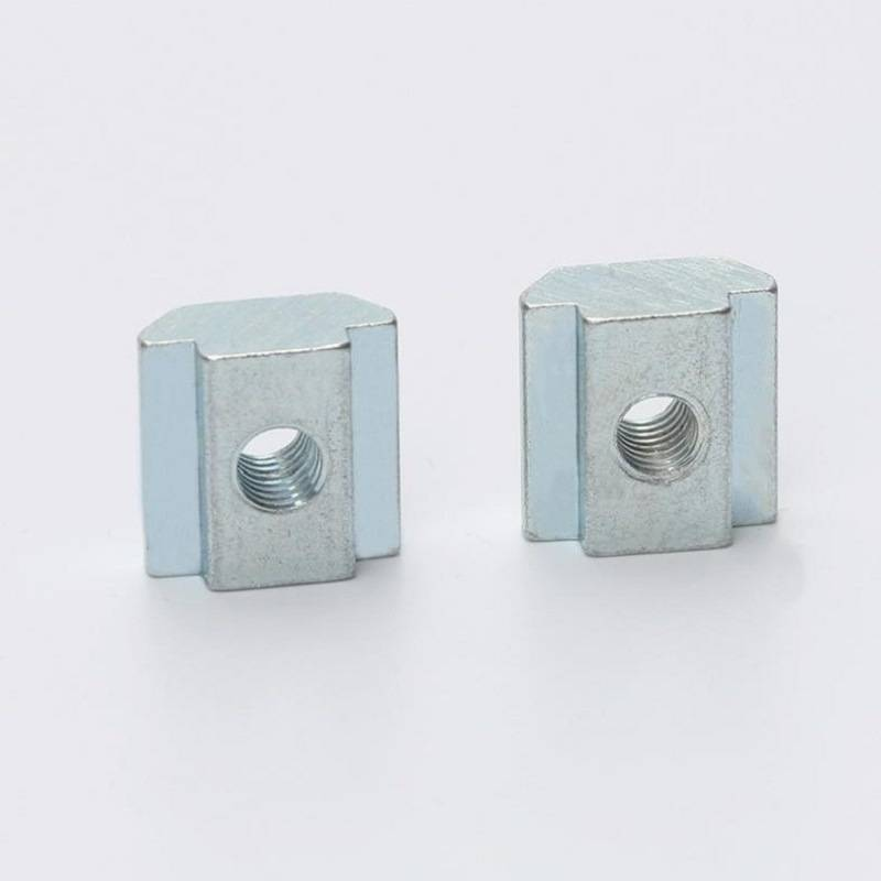 Carbon Steel Nickel Plated T-Slot Nuts Featured Image