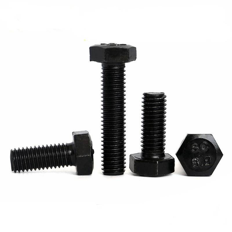 Grade 4.8 6.8 8.8 10.9 Carbon Steel Fasteners DIN933 Hex Head Bolt Featured Image
