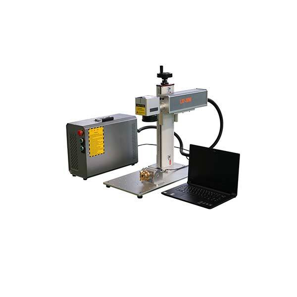 Portable 20w 30w 50w 100w 120w color mopa general Fiber laser marking machine price Featured Image
