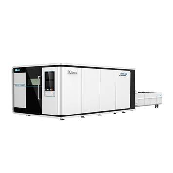 【LXF1530G】Big Power thick metal plate cnc fiber laser cutting machine 1530 fiber laser cutter 1540 1560 with exchange table and cover Featured Image