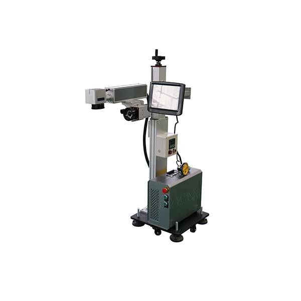 Without Computer work easy cooperation portable split fiber laser marking machine Featured Image