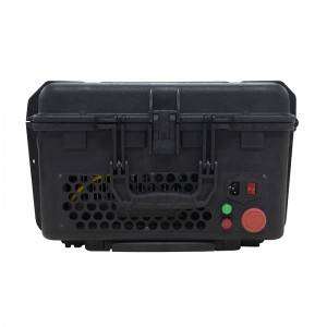 100W cheap Handheld Portable rust removal fiber laser cleaning machine price for sale