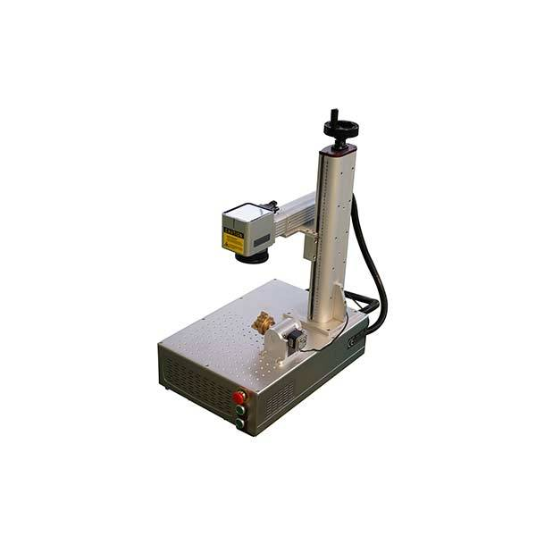 Mini Small fiber laser marking machine 20 watt 30 watt 50 watt 100 watt Featured Image