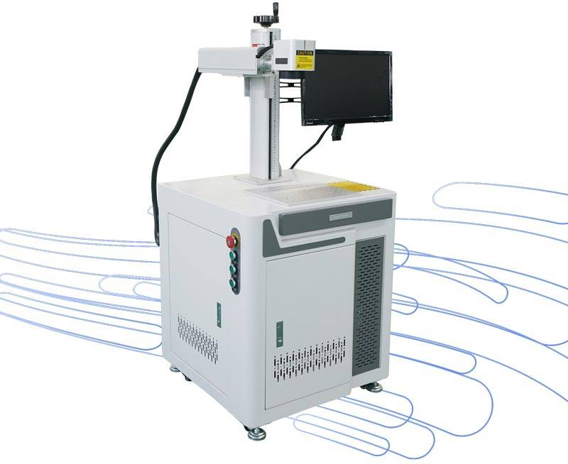 The difference between different powers of uv laser marking/uv fiber laser marking machine?