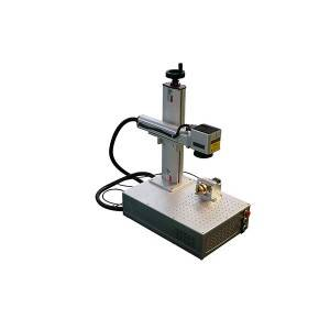 Mini Small fiber laser marking machine 20 watt 30 watt 50 watt 100 watt