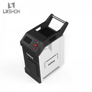Factory Cheap Hot China Aurora Laser 50W Backpack Portable Laser Cleaning Machine