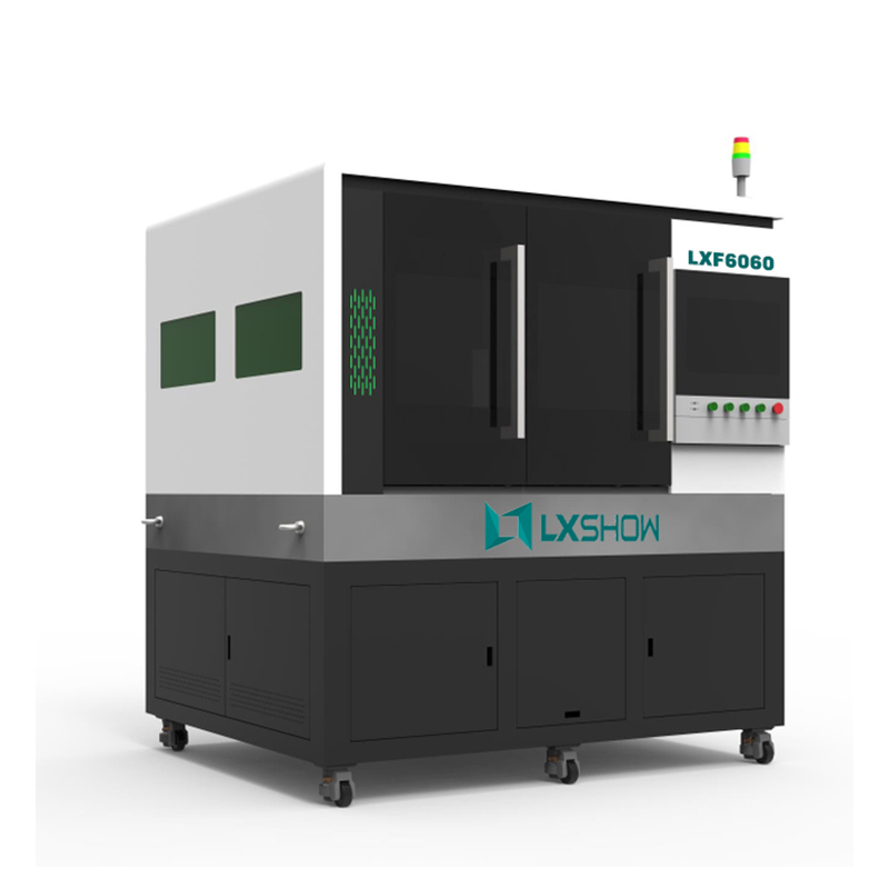 【LXF6060】High Precision mini small fiber laser cutting machine LXF6060 with linear motor ball screw transmission 500w 750w 1000w 1500w Featured Image
