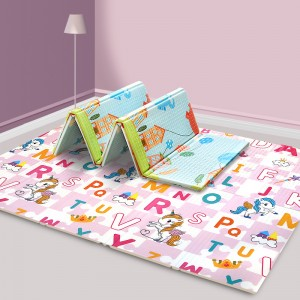 EPE/XPE Baby Creeping Safety Printing kids play mat